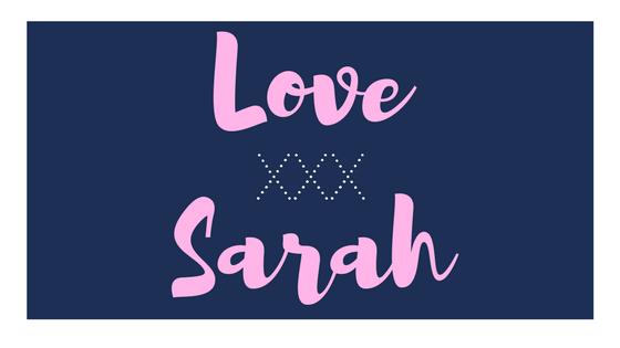Love Sarah XXX Blog Cover