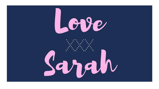 Love Sarah XXX Blog Cover